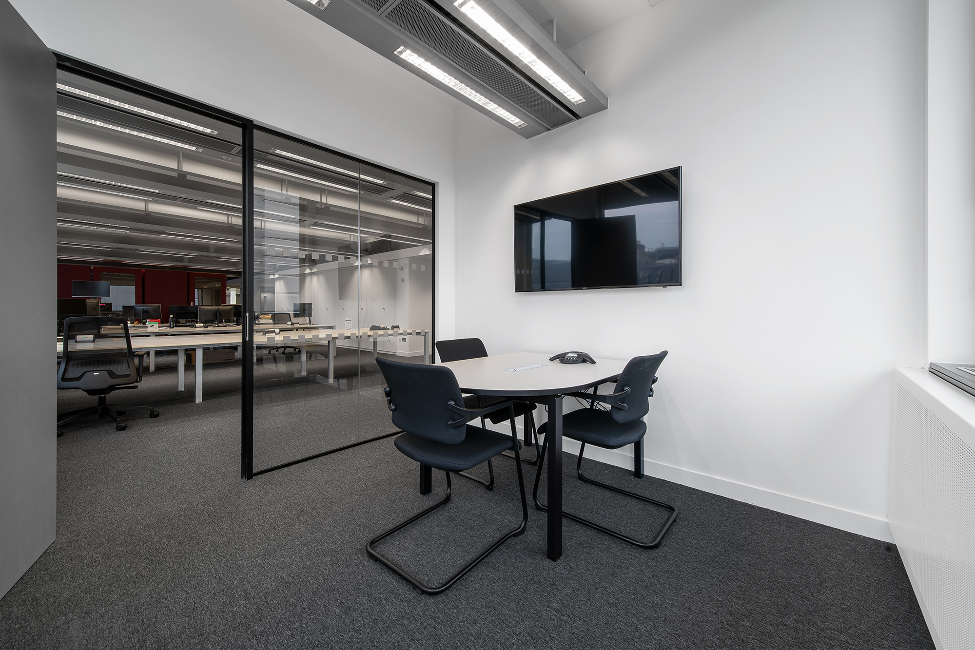 Project Management & <br> Fit Out Works